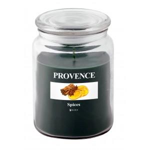 Svíčka ve skle s víčkem, Koření 510 g