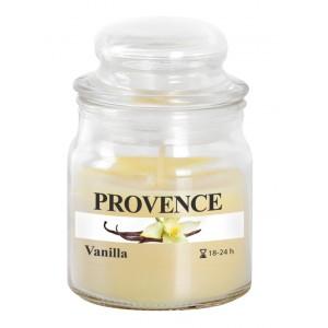 Svíčka ve skle s víčkem, vanilka 70 g