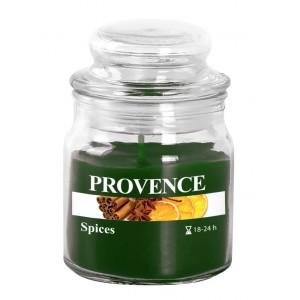 Svíčka ve skle s víčkem, koření 70 g